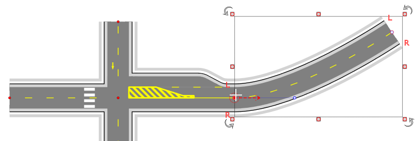 Creating an intersection in RapidPlan - Step 7